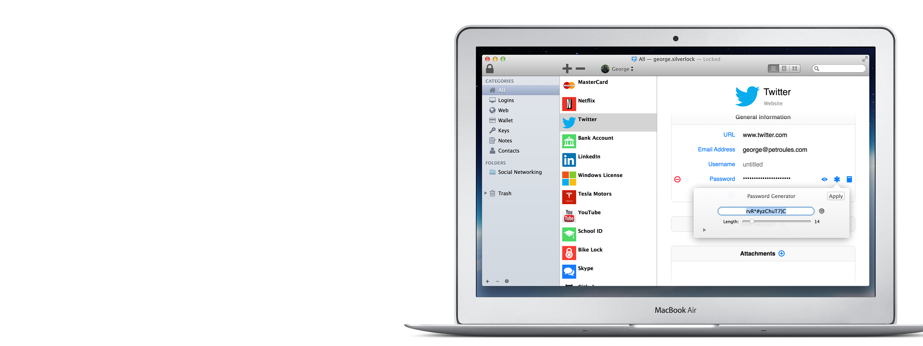 Silverlock for Mac, iPhone and iPad